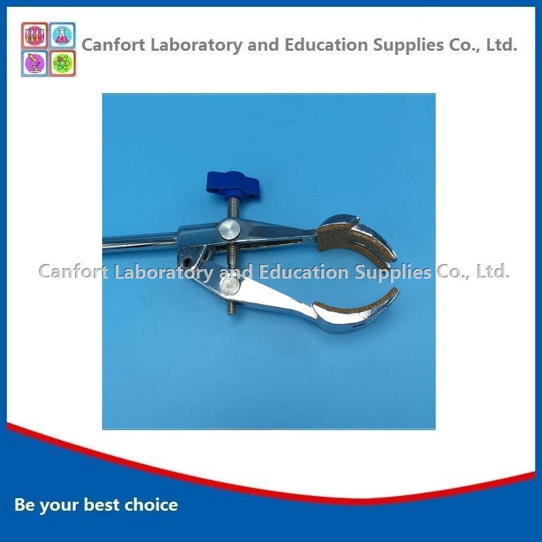 Four finger clamp, lab claw clamp