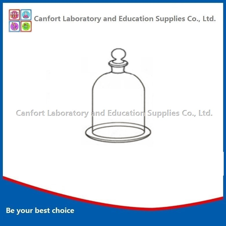 Glass bell jars with stopper