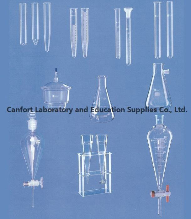 Laboratory glassware with quick delivery