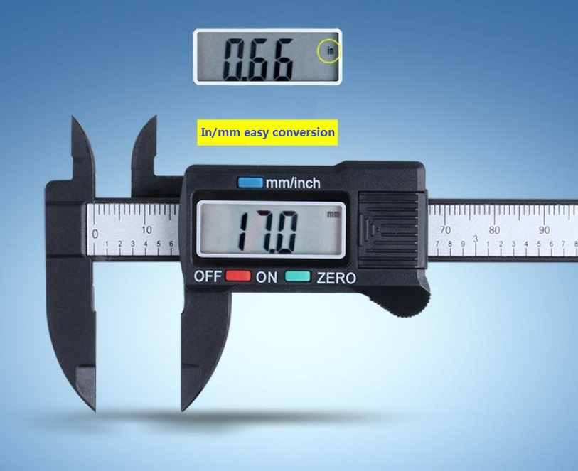 High Quality Digital Plastic Vernier Caliper