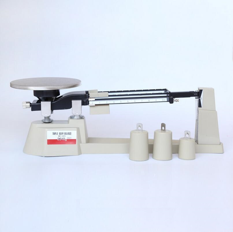 Triple Beam Balance 2610g for School and Laboratory