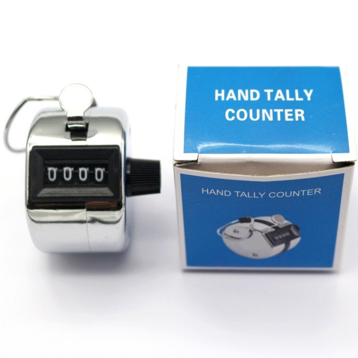 Manual Hand Mechanical Tally Counter