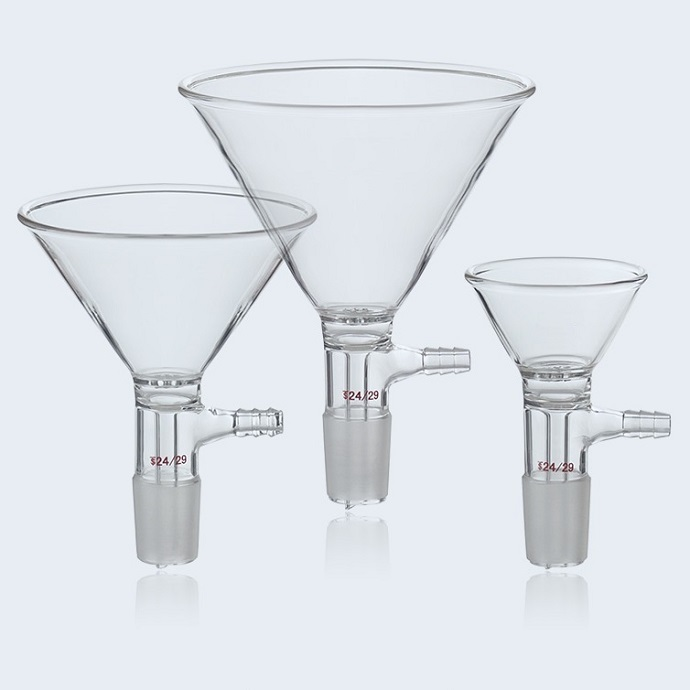 Glass Buchner Funnel With Pore Plate