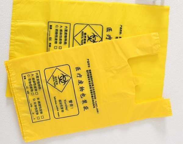 What are disposal medical waste bag used for