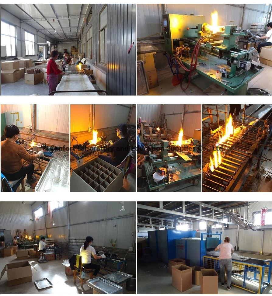 production line and workshop for lab glassware