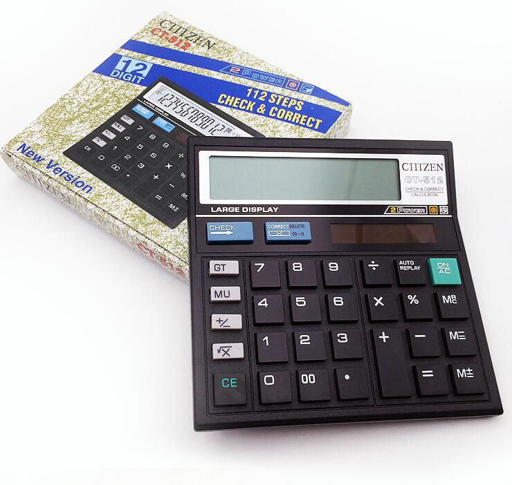 Electronic Calculator CT512