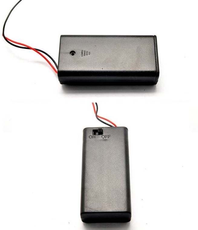 Battery Holder with Switch