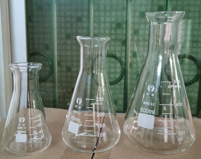 wide mouth erlenmeyer flask
